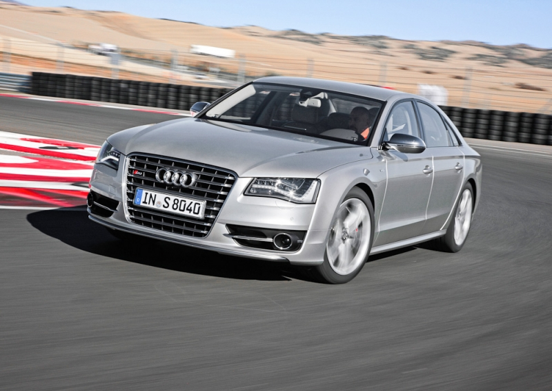 Audi S8. Sex, Sport & Rock'n'Roll